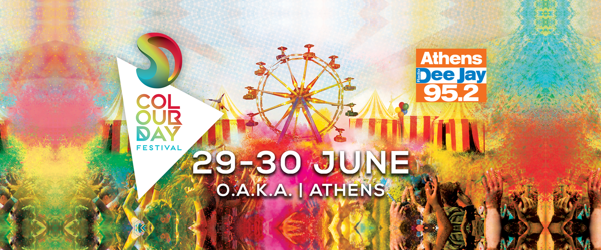Colour Day Festival - The Circus Project: Το απόλυτο καλοκαιρινό φεστιβάλ με τον 95.2 Athens Deejay